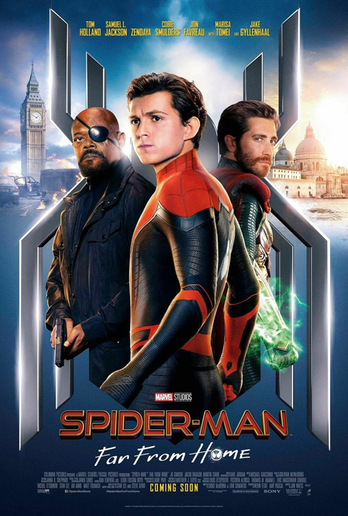 Affiche du film Spider-Man: Far From Home