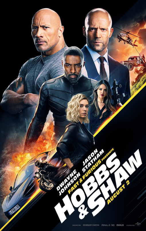 Affiche du film Fast and Furious: Hobbs and Shaw