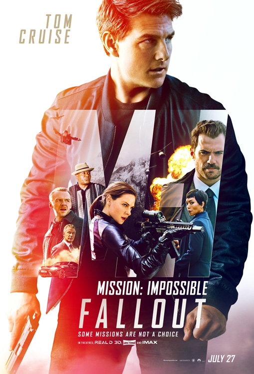 Affiche du film Mission Impossible : Fallout