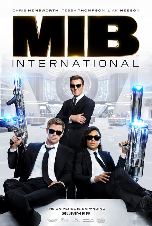 Affiche du film Men in Black: International